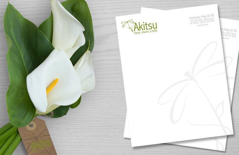 Akitsu - Hoja Membretada - CreadoresWeb.mx