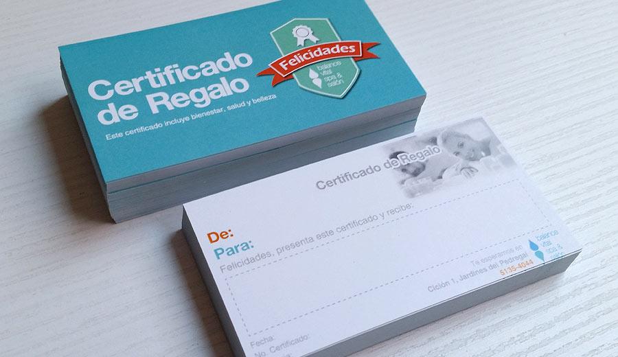 Balance Vital SPA & Salón - Certificados de Regalo - CreadoresWeb.mx