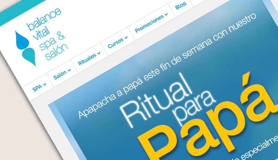 Balance Vital SPA & Salón - Email Marketing - CreadoresWeb.mx