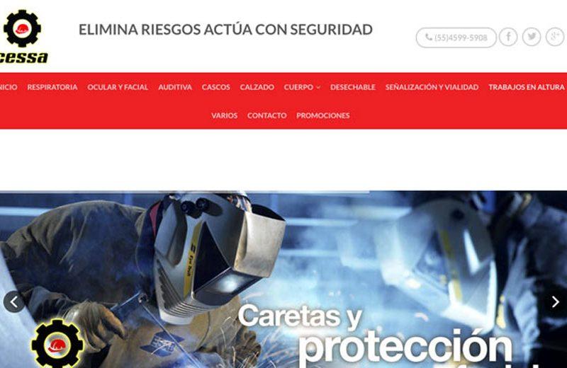 CESSA - Diseño de Páginas Web - CreadoresWeb.mx