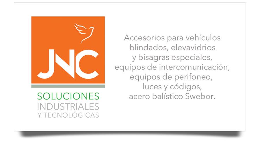 JNC Soluciones - Tarjetas de Presentación - CreadoresWeb.mx