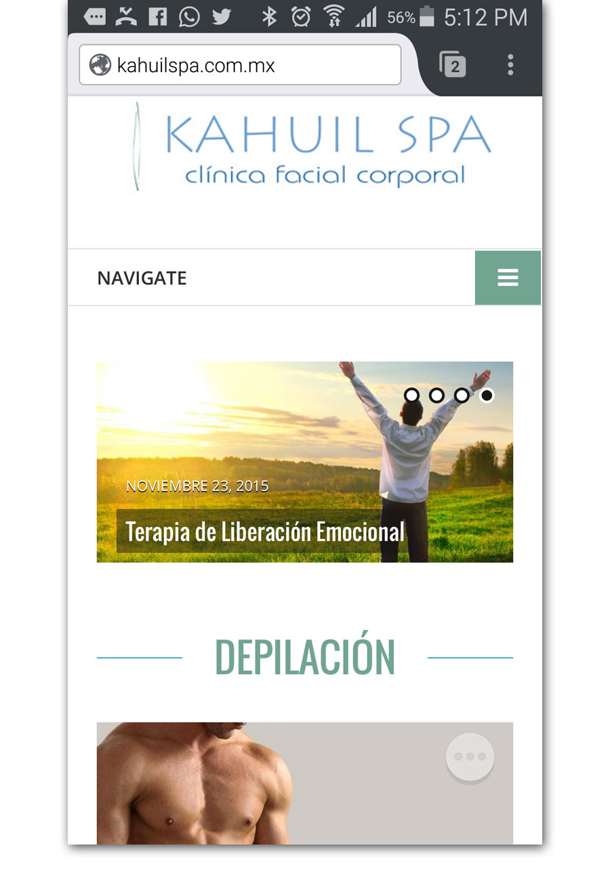 Kahuil SPA - Página Web - CreadoresWeb.mx