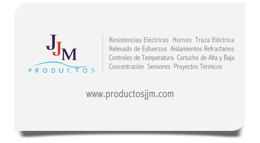 Productos JJM - Tarjetas de Presentación - CreadoresWeb.mx