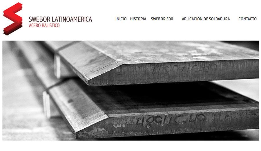 Swebor Latinoamérica - Diseño de Páginas Web - CreadoresWeb.mx