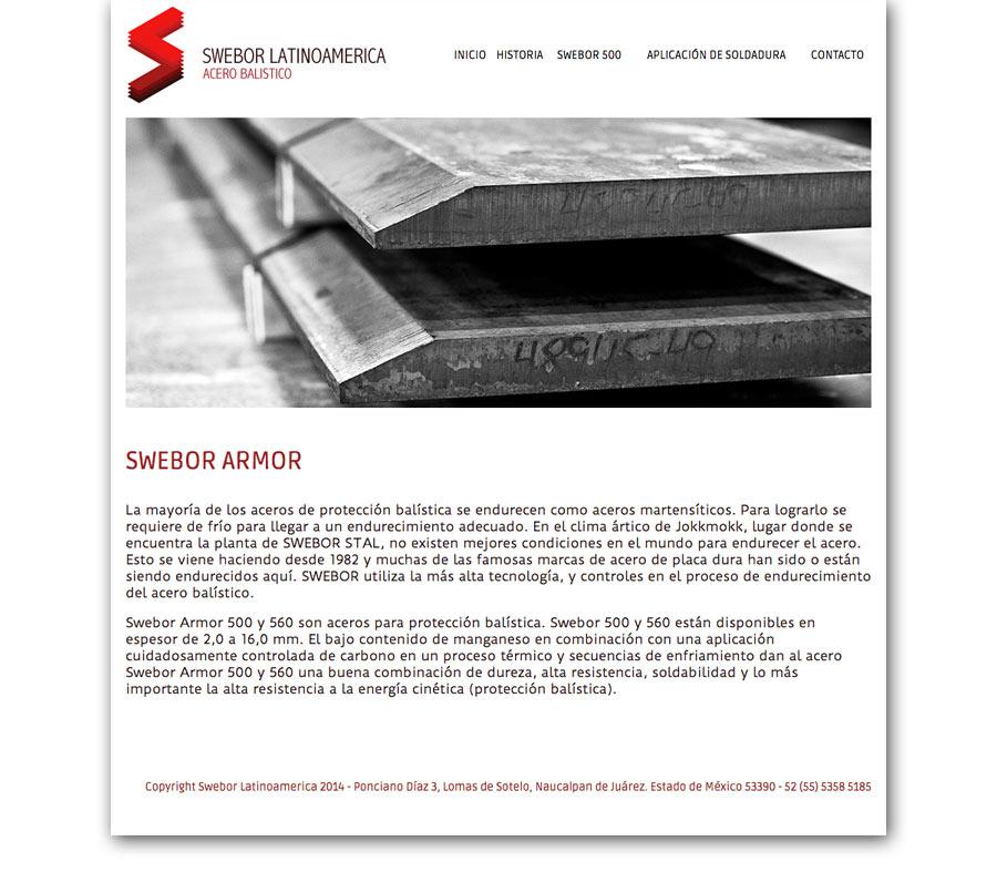 Swebor Latinoamérica - Página Web - CreadoresWeb.mx