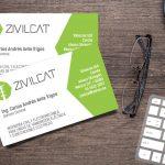 ZIVILCAT - Tarjetas de presentación - CreadoresWeb.mx