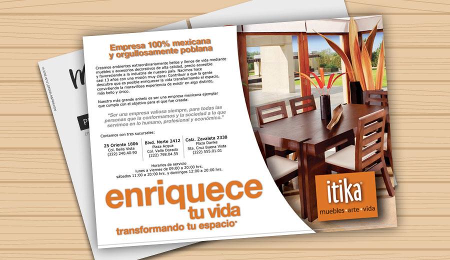 itika - Anuncio para revista - CreadoresWeb.mx
