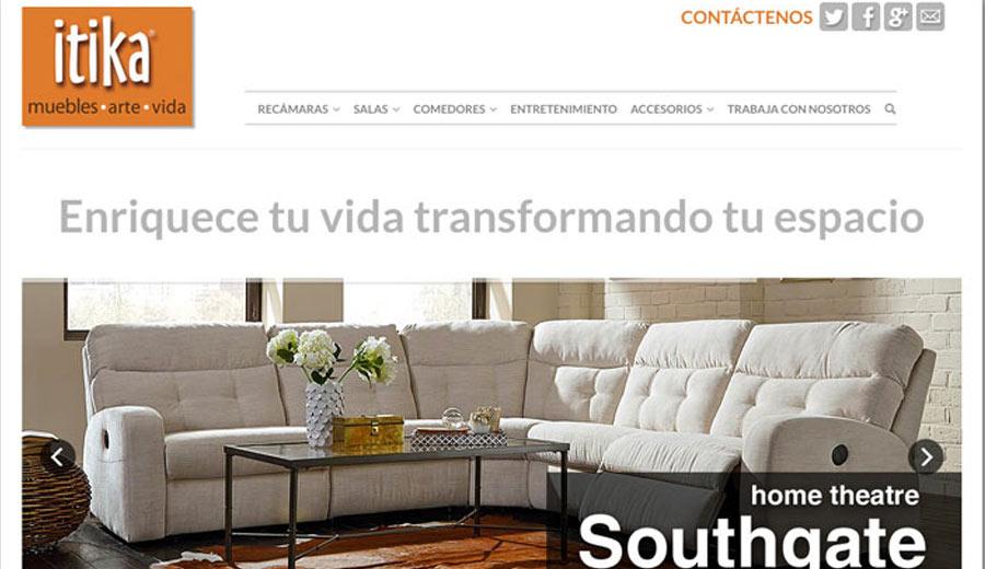 itika - Diseño de Páginas Web - CreadoresWeb.mx