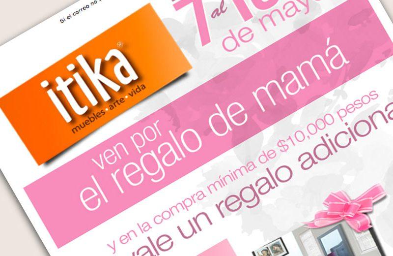 itika - Mailing - CreadoresWeb.mx