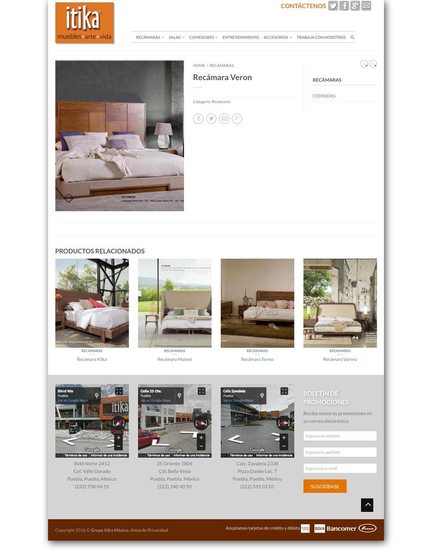itika - Página Web - CreadoresWeb.mx