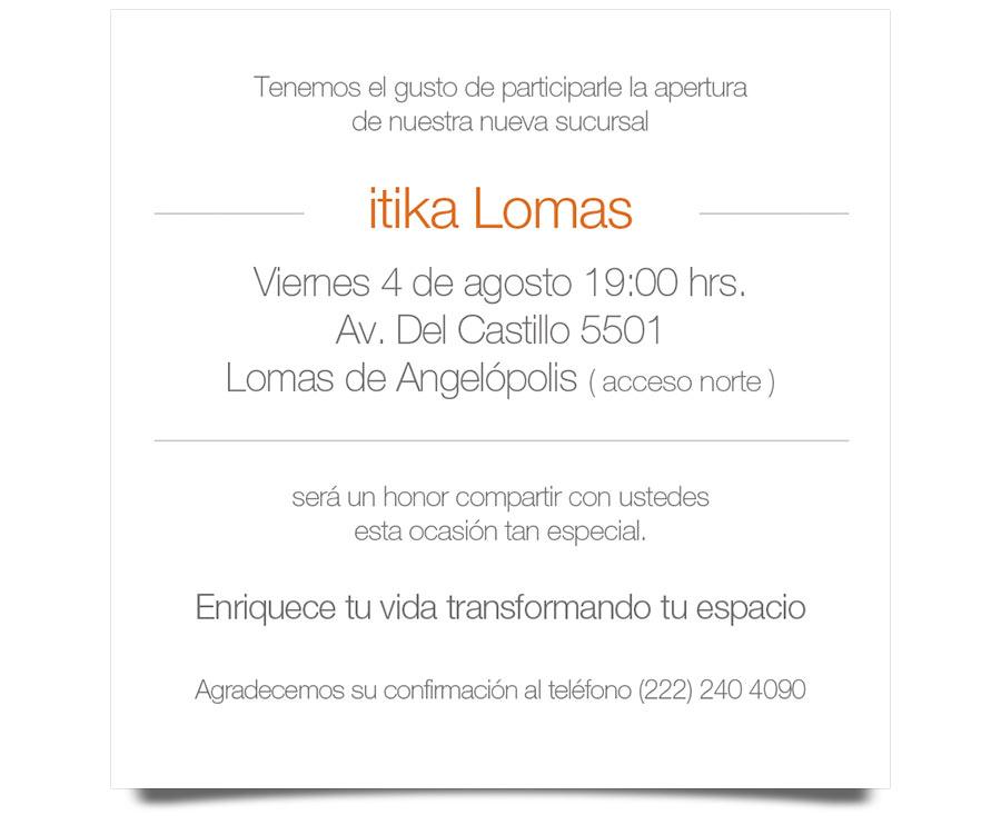 itika - Invitación - CreadoresWeb.mx