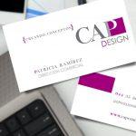 CAP Design - Tarjetas de presentación - CreadoresWeb.mx