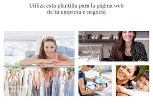 Plantilla Emprendedor 002 - Páginas Web para Emprendedoras - CreadoresWeb.mx