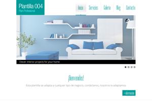 Plantilla Profesional 004 - Páginas Web para Emprendedores - CreadoresWeb.mx