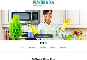 Plantilla Profesional 006 - Páginas Web para Emprendedores - CreadoresWeb.mx