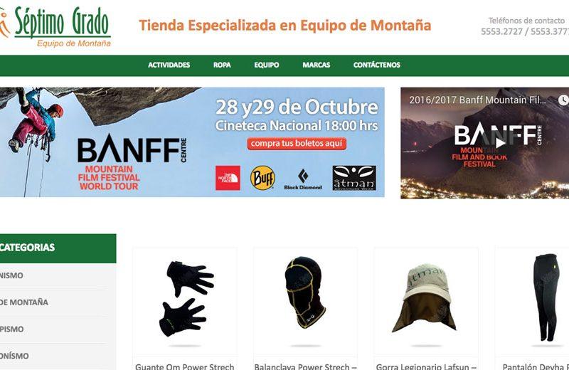 El Séptimo Grado - Diseño de Páginas Web - CreadoresWeb.mx