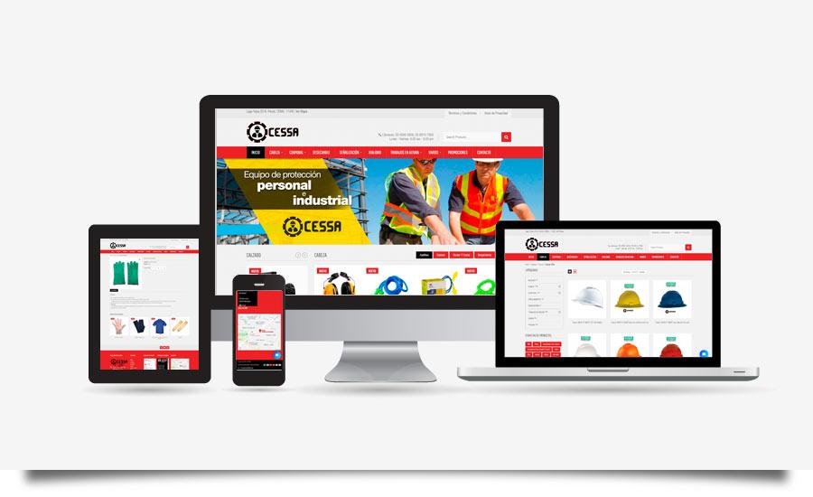 CESSA Comercializadora - Diseño y Desarrollo de Tienda en Línea - CreadoresWeb.mx