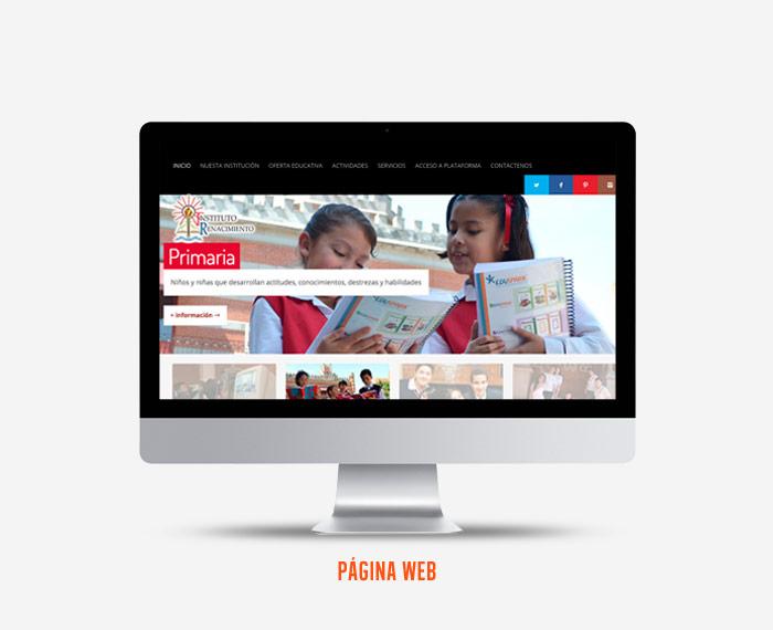 Instituto Renacimiento - Diseño de Página Web - CreadoresWeb.mx