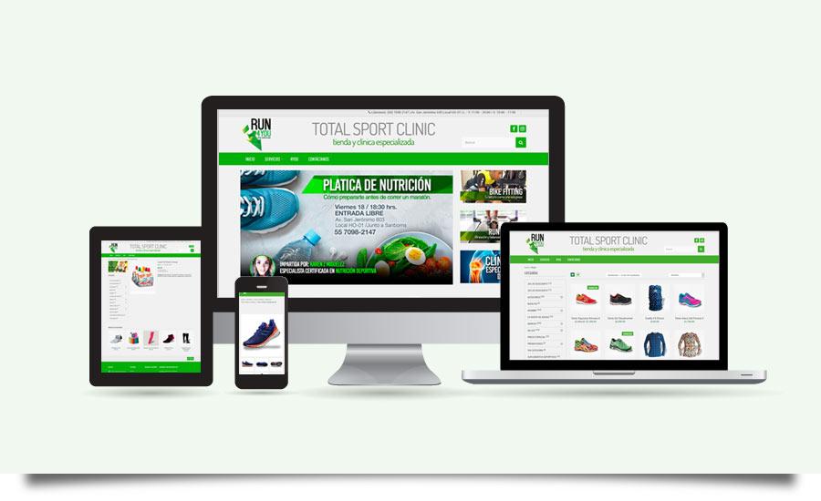 Run4You - Diseño y Desarrollo de Tienda en Línea - CreadoresWeb.mx