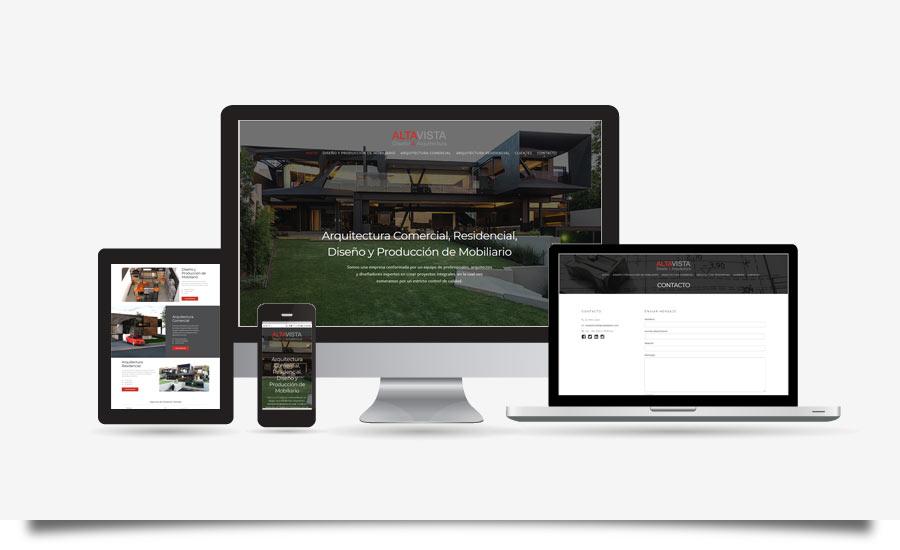 Altavista Diseño & Arquitectura - Diseño de Página Web - CreadoresWeb.mx