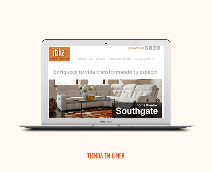 itika - Diseño y Desarrollo de Tienda en Línea - CreadoresWeb.mx