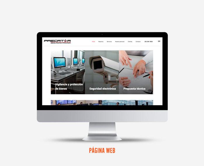 Precator - Diseño de Página Web - CreadoresWeb.mx